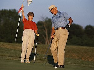 Ditch the Golf Cart. Your Aging Knees Won't Mind