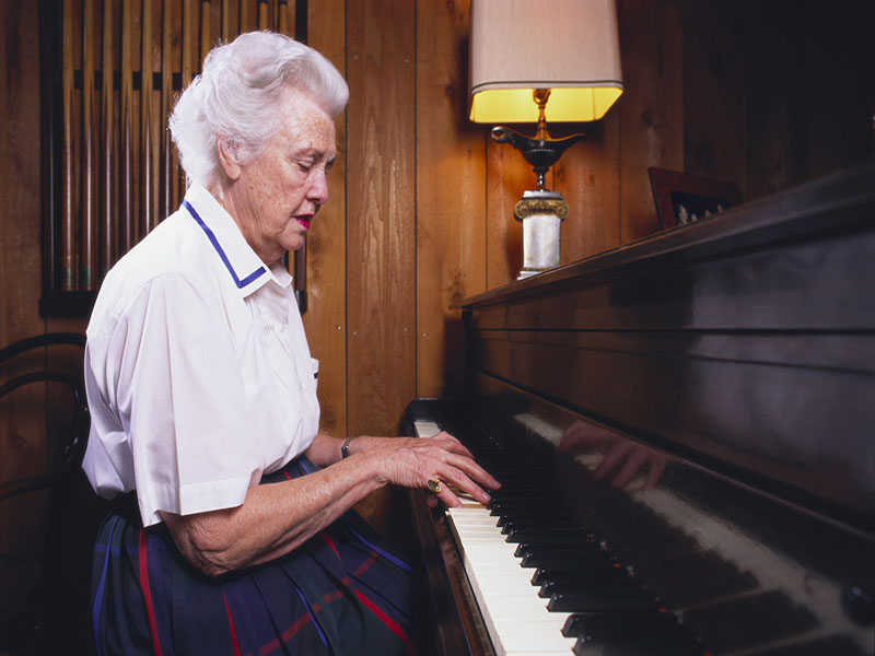 Music May Calm the Agitation of Alzheimers