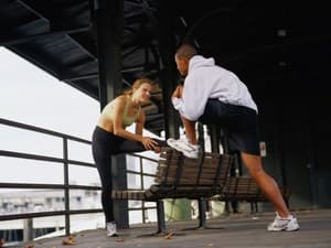 Stretches for Calves, Hamstrings and Quads