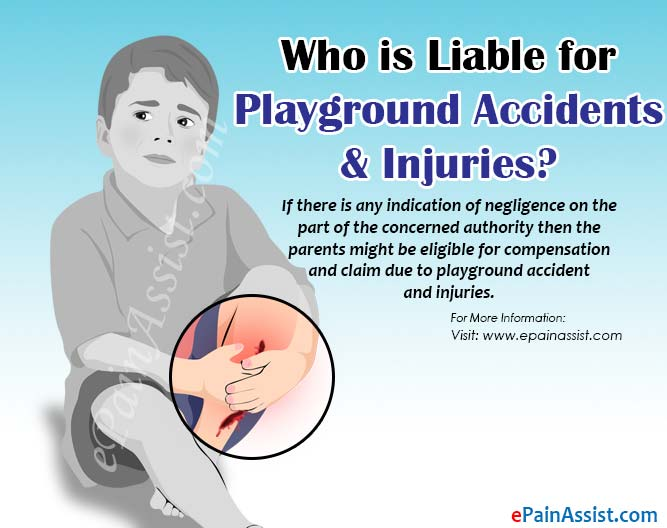 Who is Liable for Playground Accident and Injuries?