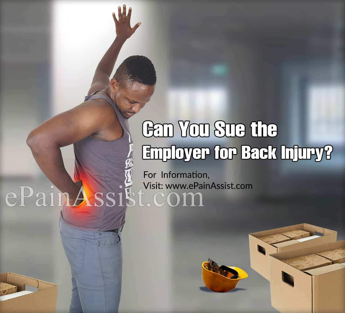 Can You Sue the Employer for Back Injury?