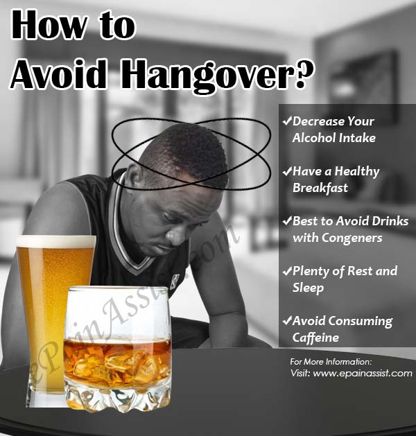 How to Avoid Hangover?