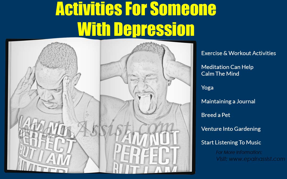Activities For Someone With Depression