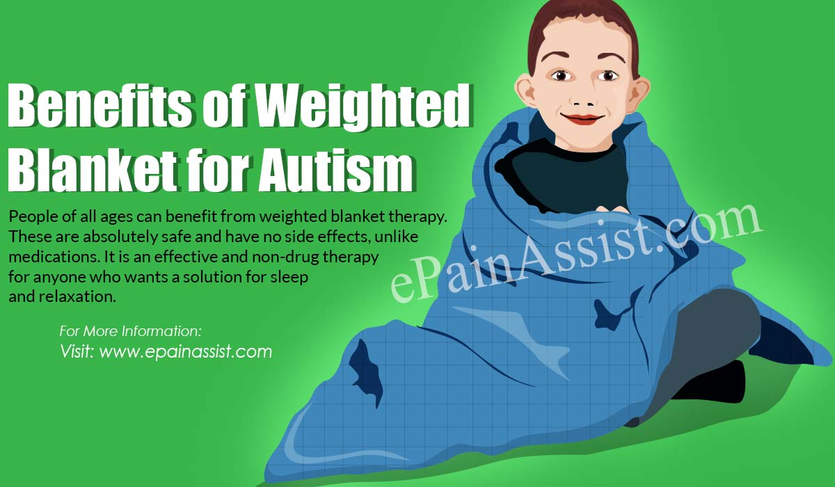 Benefits of Weighted Blanket for Autism