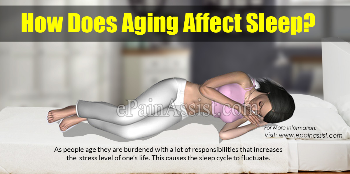 How Does Aging Affect Sleep?