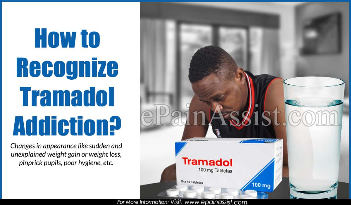 How to Recognize Tramadol Addiction?