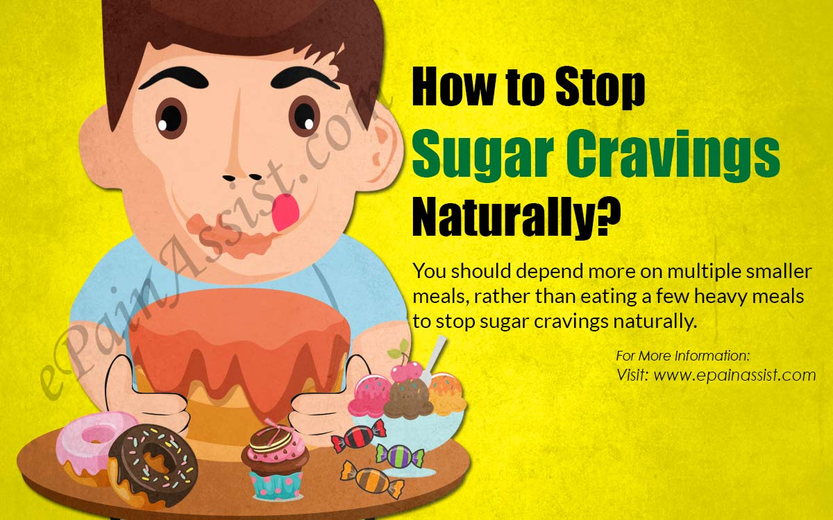 How to Stop Sugar Cravings Naturally?