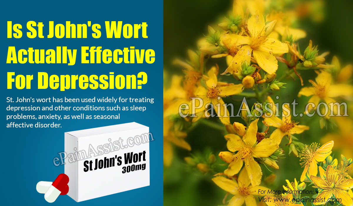 Is St John's Wort Actually Effective for Depression?
