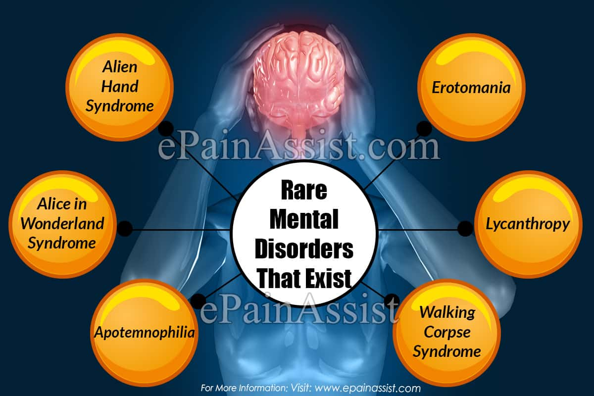 Rare Mental Disorders That Exist