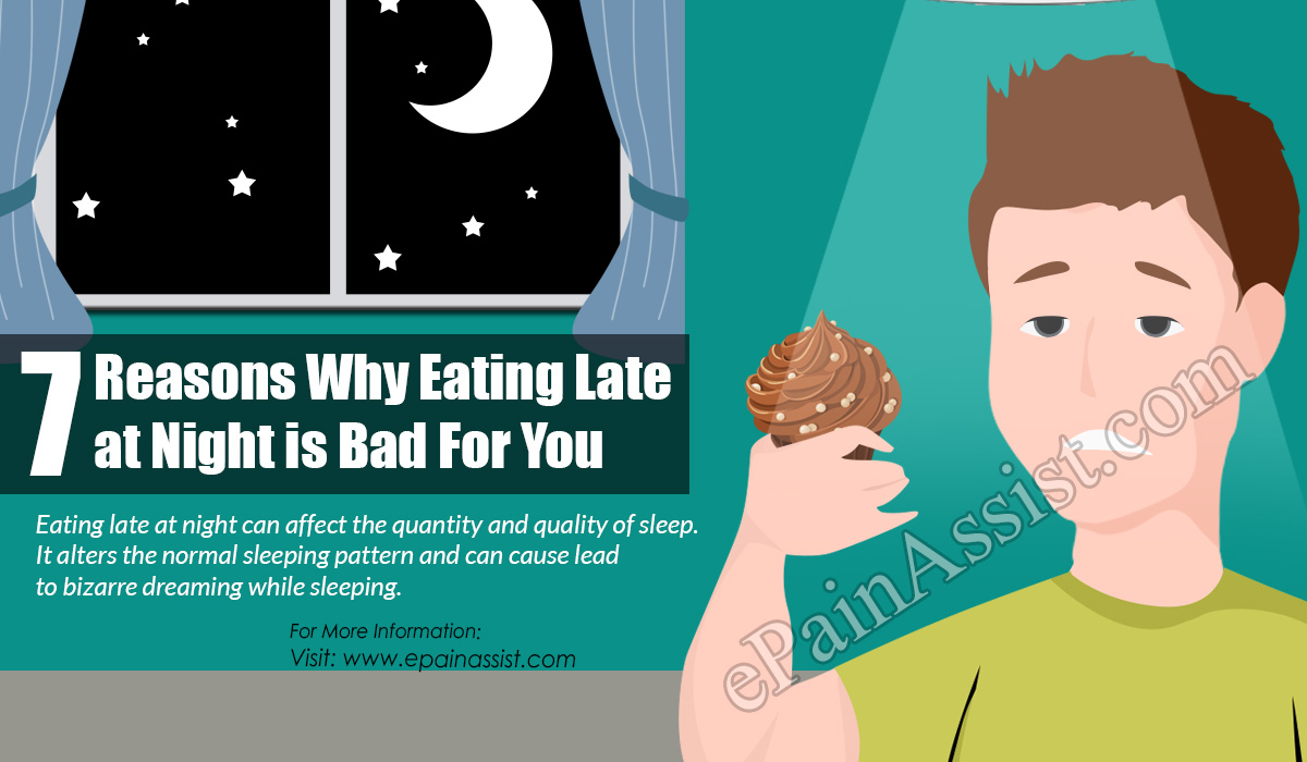 7 Reasons Why Eating Late At Night is Bad For You