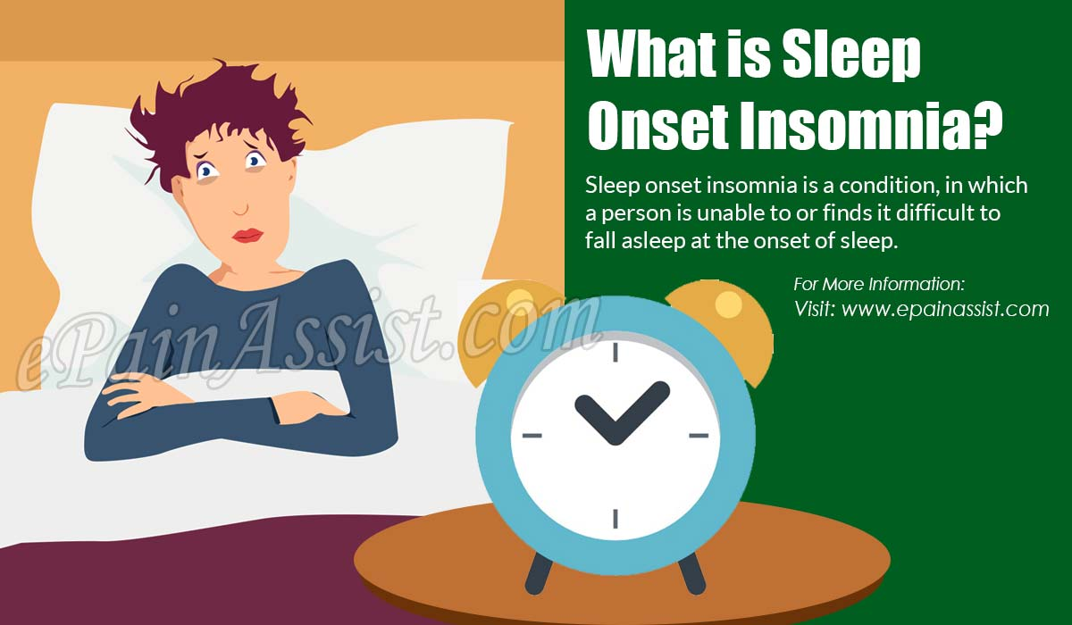 What is Sleep Onset Insomnia?