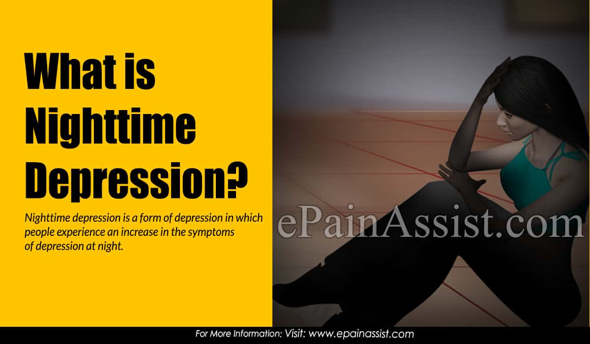 What is Nighttime Depression?