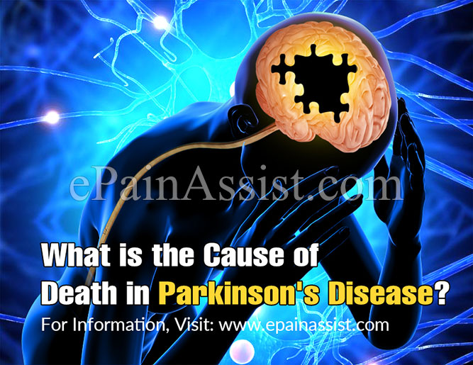 What is the Cause of Death in Parkinson's Disease?