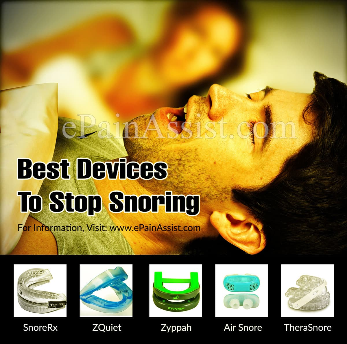 Best Devices To Stop Snoring