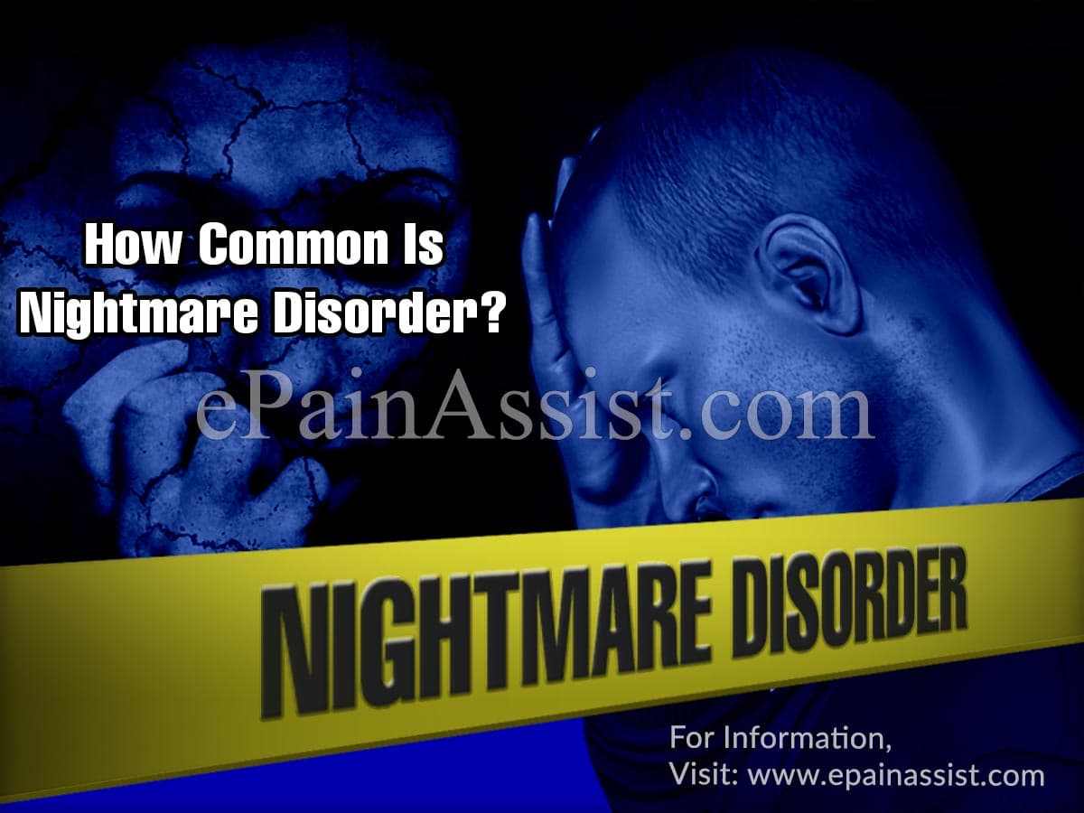 How Common Is Nightmare Disorder Or Is It Rare?