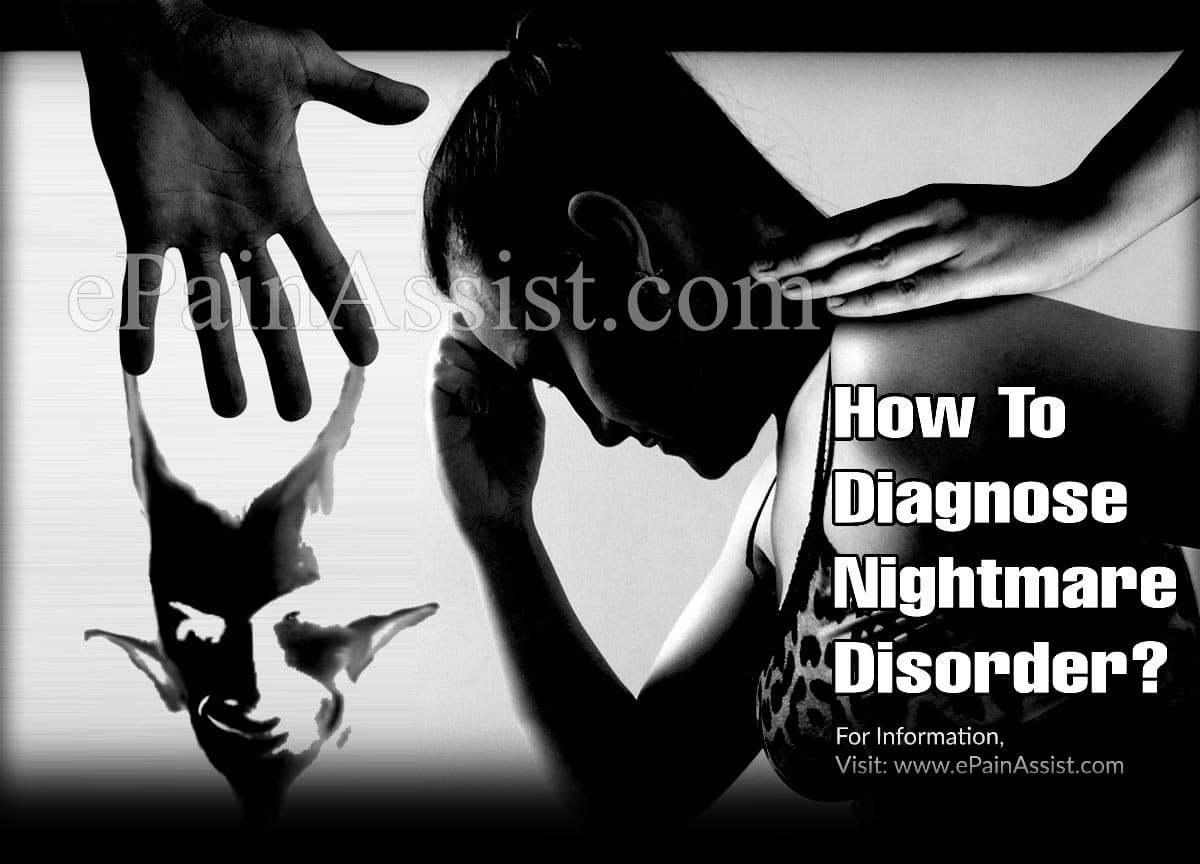 How To Diagnose Nightmare Disorder?