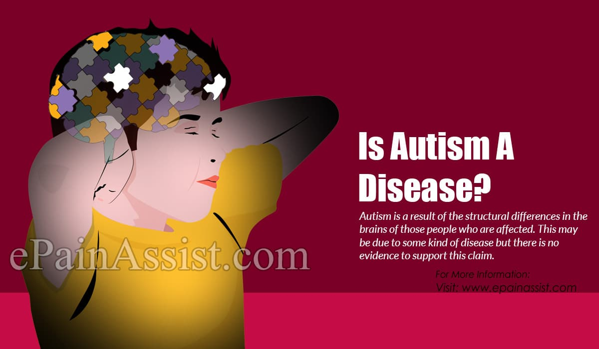 Is Autism a Disease?