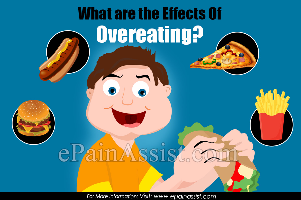 What are the Effects of Overeating Disorder?
