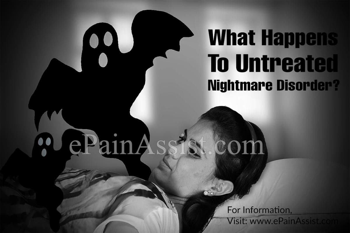 What Happens To Untreated Nightmare Disorder?