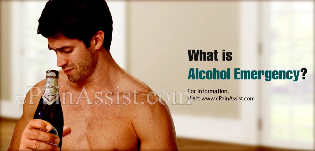 What is Alcohol Emergency?