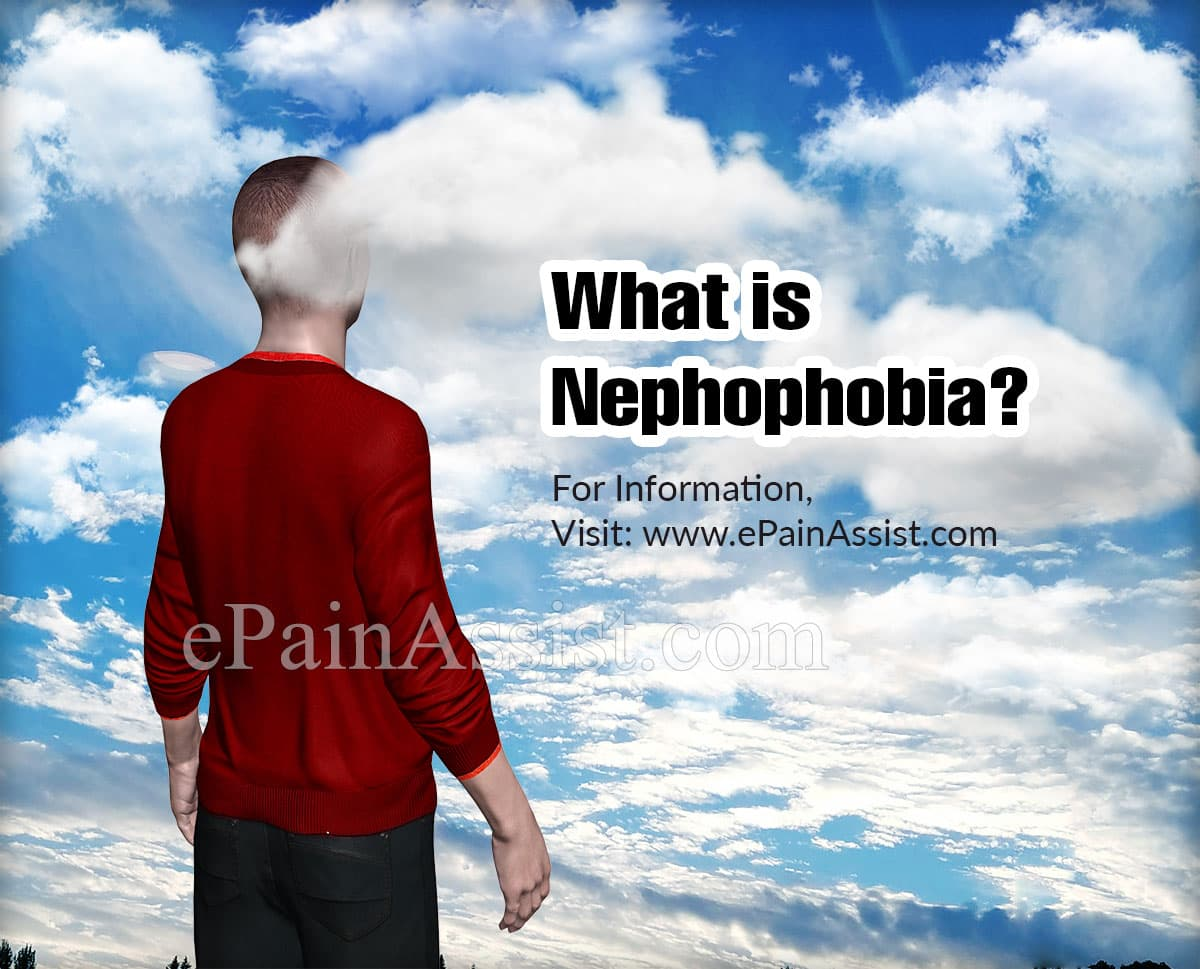 What is Nephophobia?