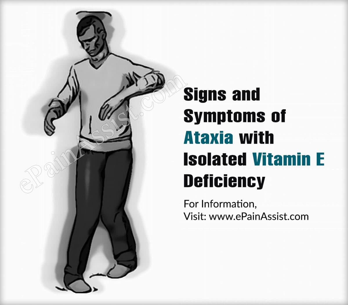 Signs and Symptoms of Ataxia with Isolated Vitamin E Deficiency