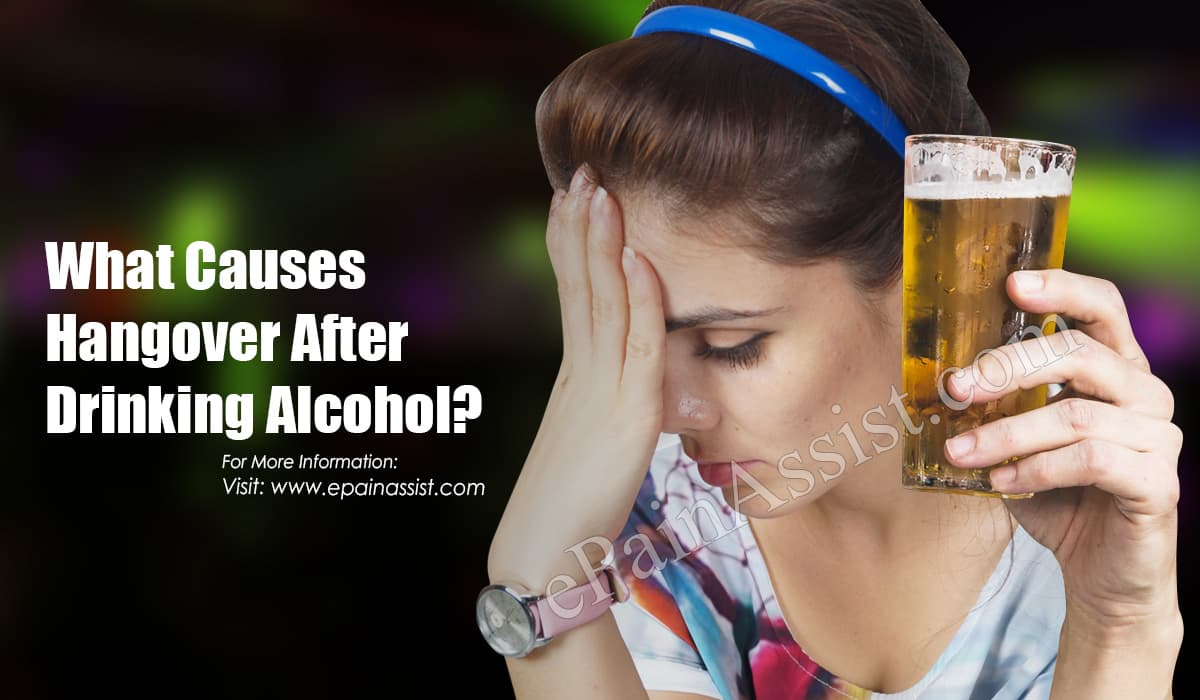 How Can You Get Rid Of Hangover?