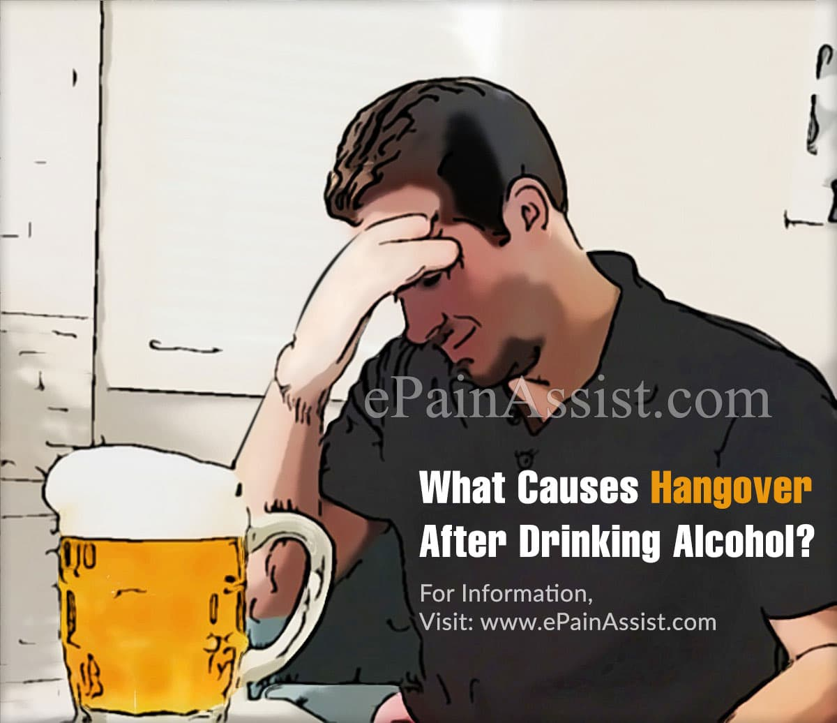 What Causes Hangover After Drinking Alcohol?