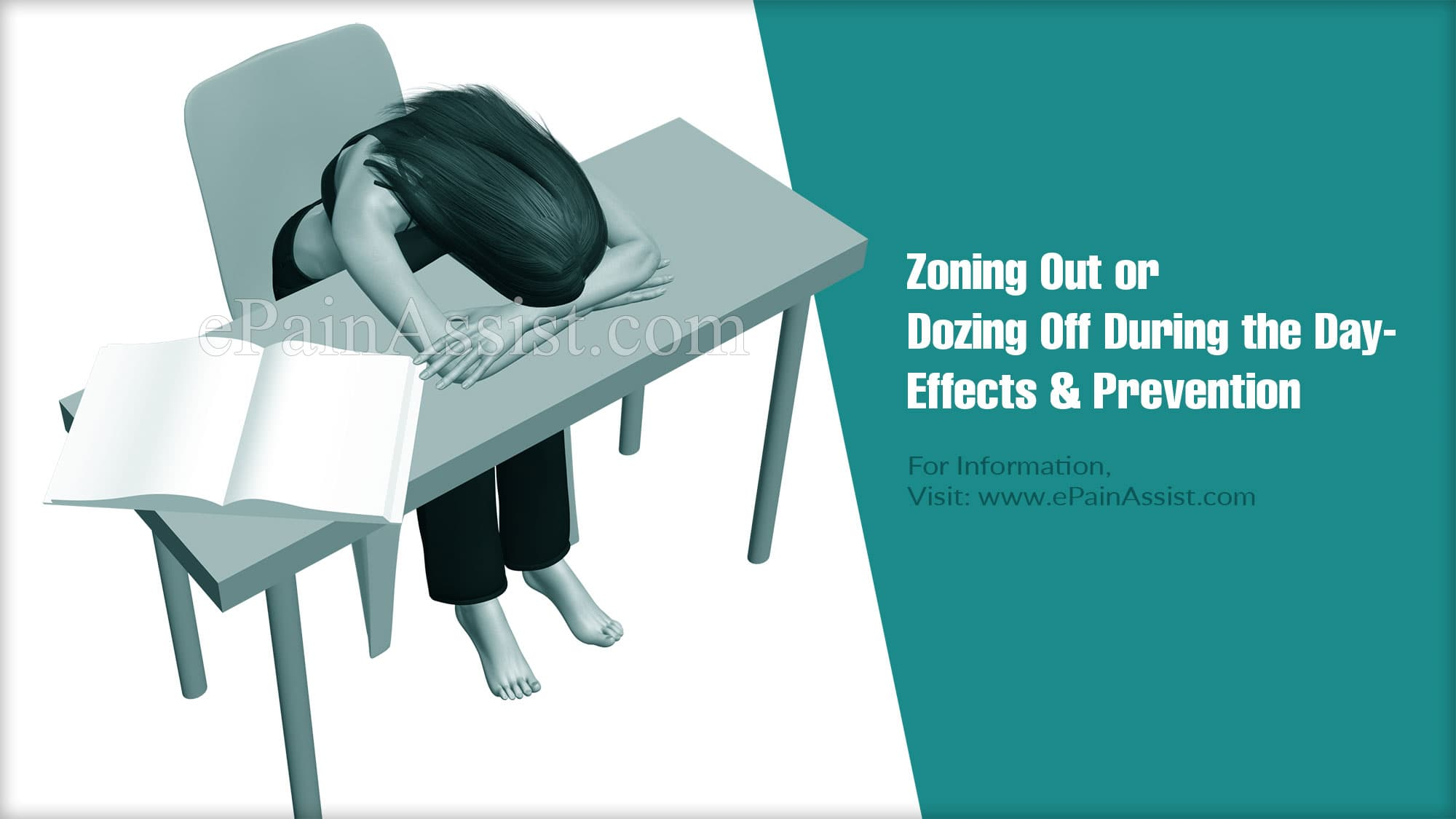 Zoning Out or Dozing Off During the Day: Effects & Prevention