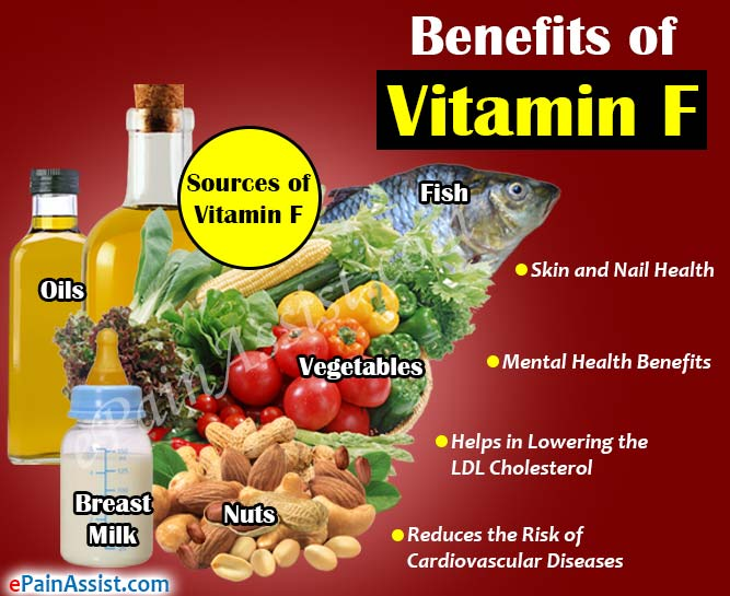 Benefits of Vitamin F