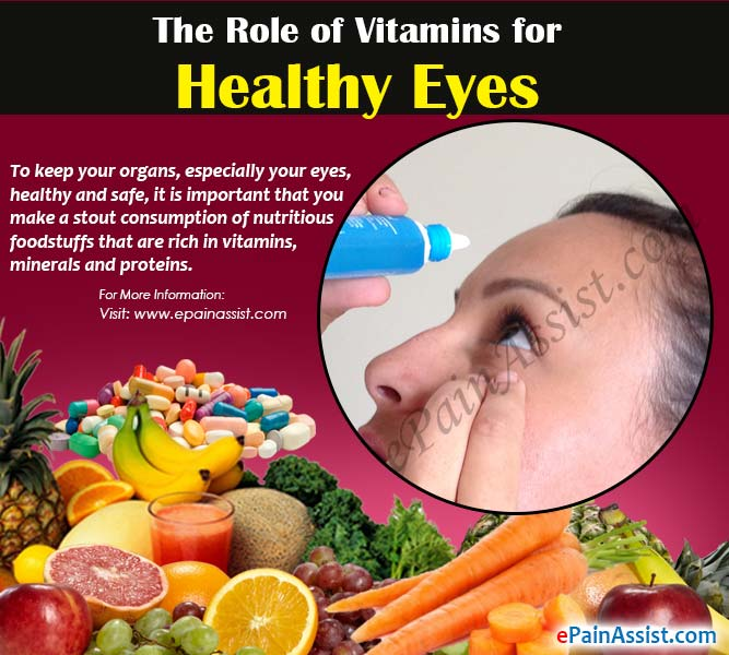 The Role of Vitamins for Healthy Eyes