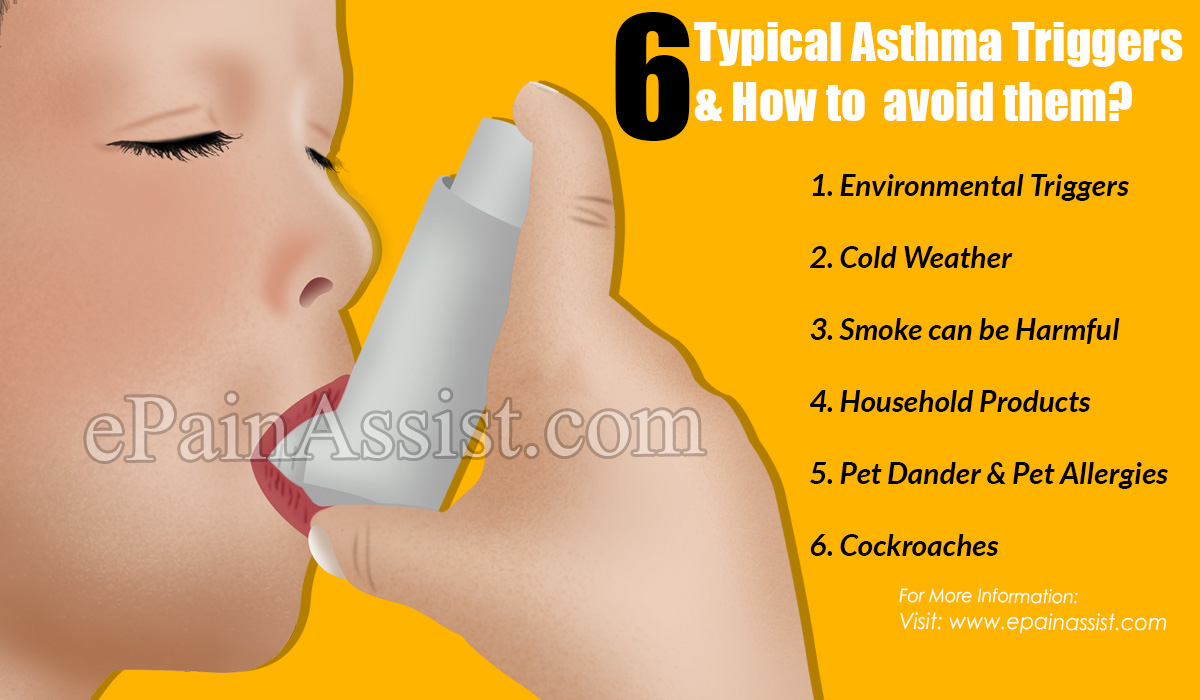 6 Typical Asthma Triggers & How to avoid them?