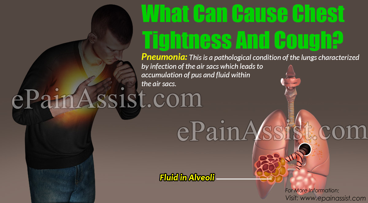 What Can Cause Chest Tightness And Cough?