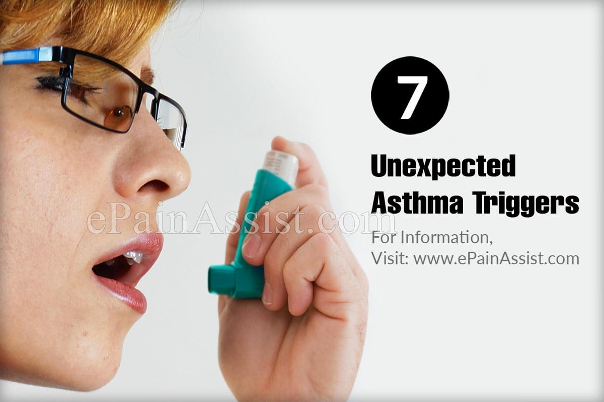 7 Unexpected Asthma Triggers