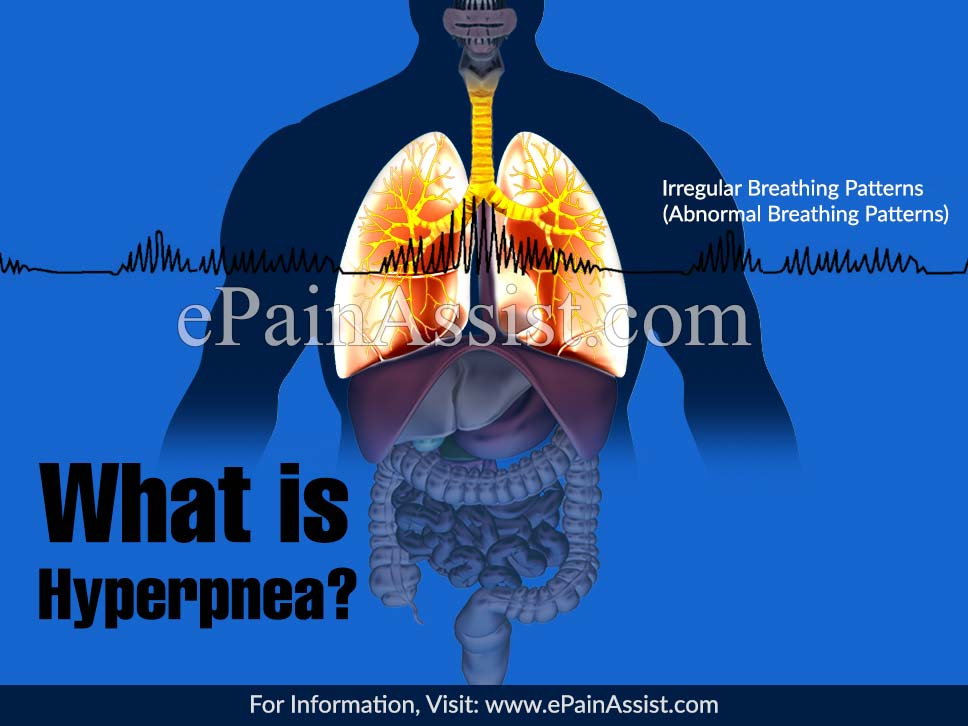 What is Hyperpnea?