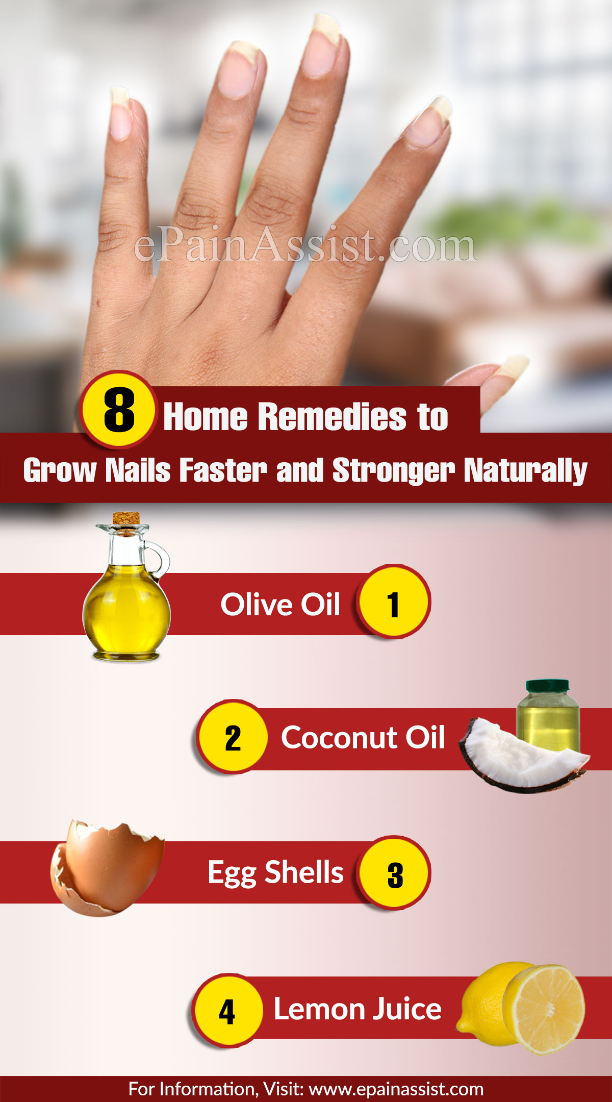 Home Remedies to Grow Nails Faster and Stronger Naturally