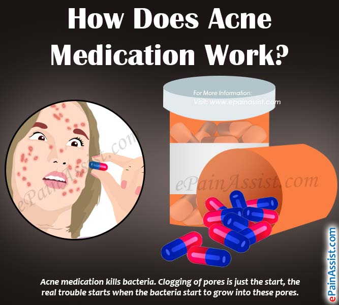 How Does Acne Medication Work?