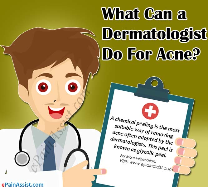 What Can a Dermatologist Do For Acne?
