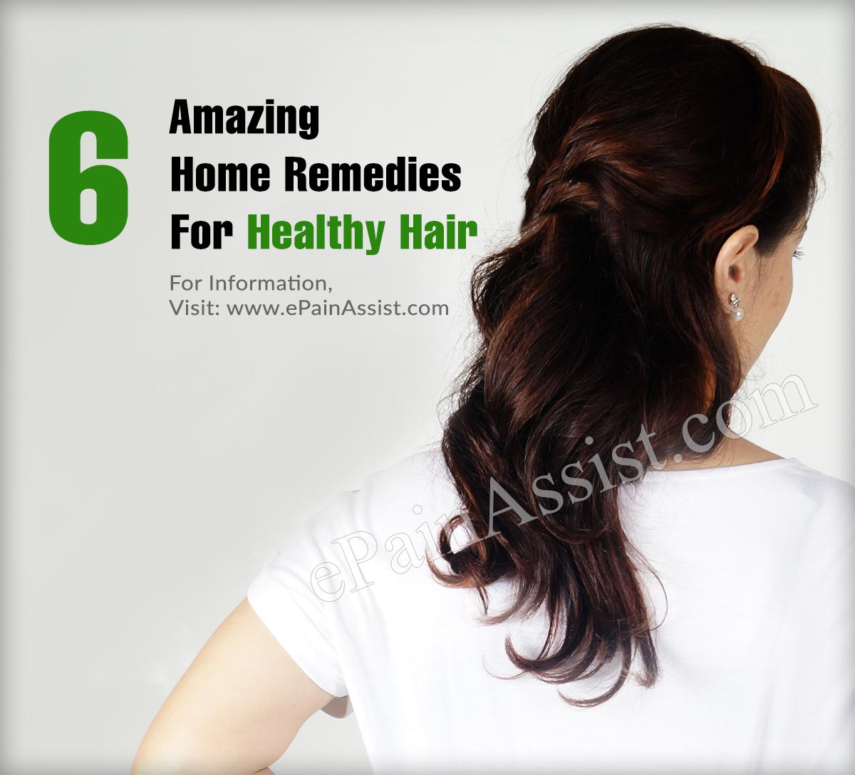 6 Amazing Home Remedies For Healthy Hair