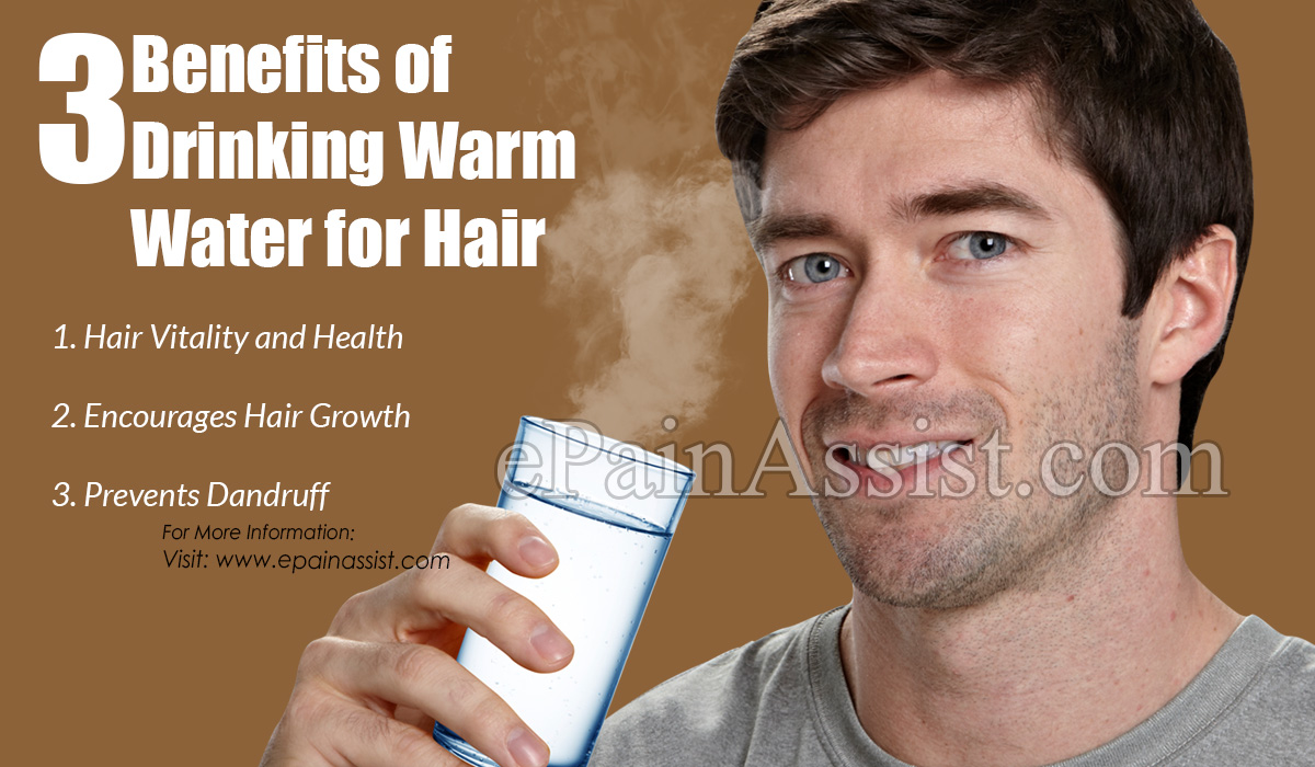 3 Benefits of Drinking Warm Water for Hair