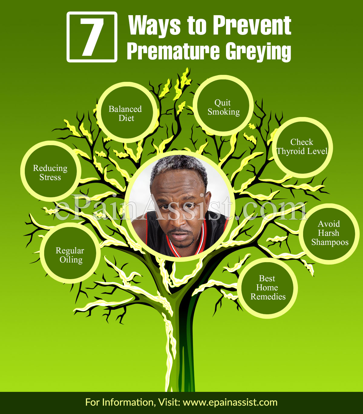 7 Ways to Prevent Premature Greying