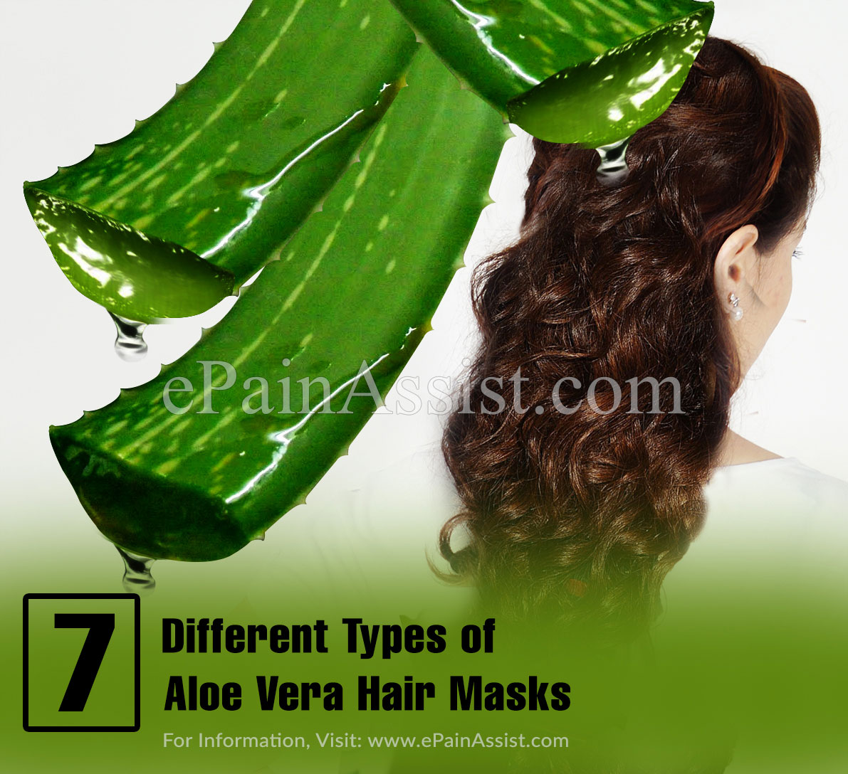 7 Different Types of Aloe Vera Hair Masks