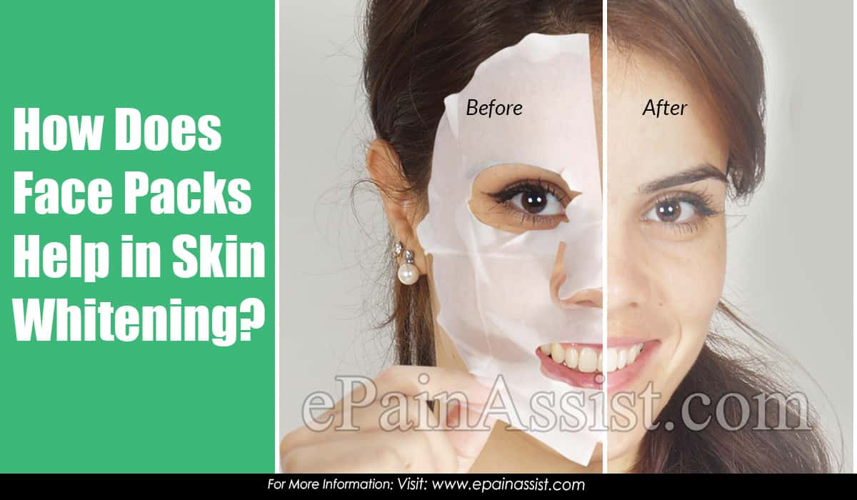 How Does Face Packs Help in Skin Whitening?