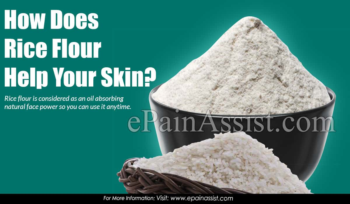 How Does Rice Flour Help Your Skin?