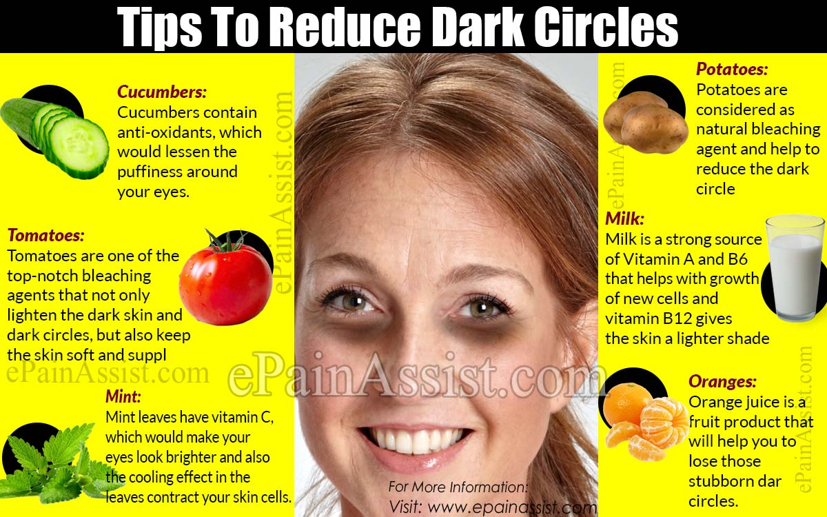 Tips To Reduce Dark Circles