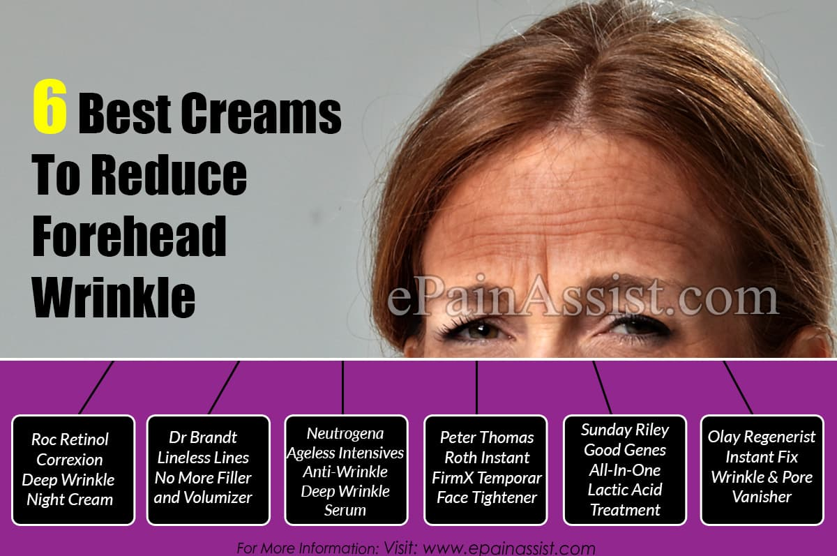 6 Best Creams To Reduce Forehead Wrinkle