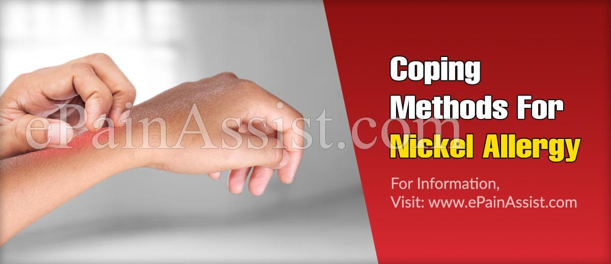 Coping Methods For Nickel Allergy