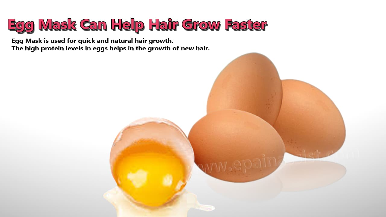 Egg Mask Can Help Hair Grow Faster