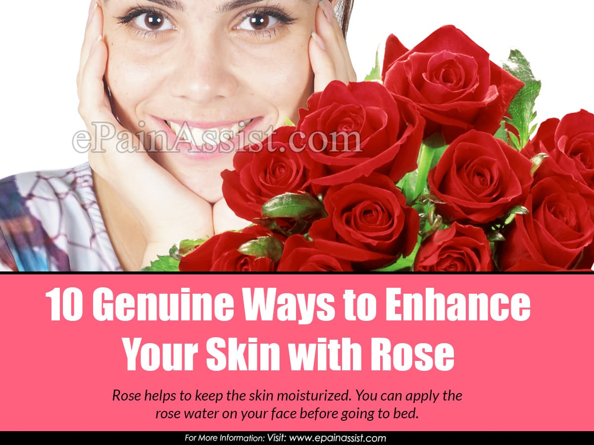 10 Genuine Ways to Enhance Your Skin with Rose