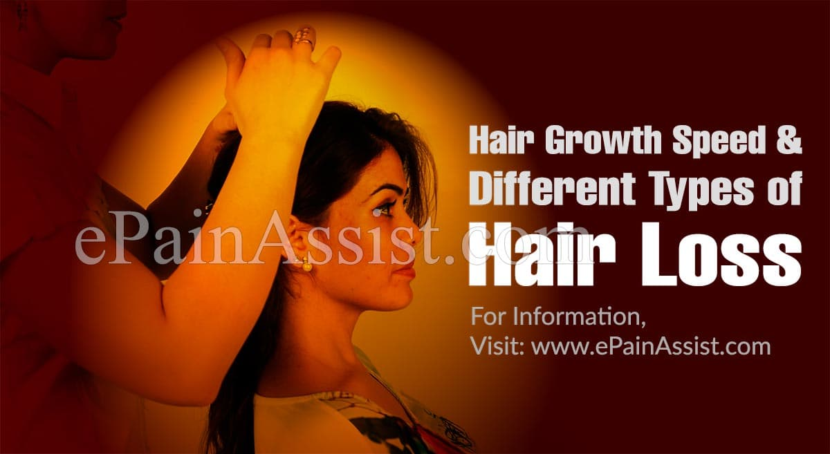 Hair Growth Speed in Different Types of Hair Loss
